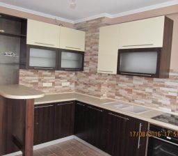 Кухня Орех и Кремовая от Green мебель