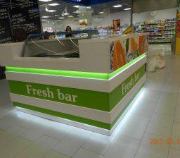 Торговый островок FreshBar от Green мебель