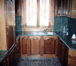 Кухня Темный дуб от Green мебель