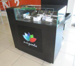 Витрина E-cigareta от Green мебель