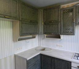 Кухня Зелёный Антик от Green мебель