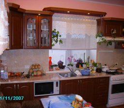 Кухня Орех лесной большая от Green мебель