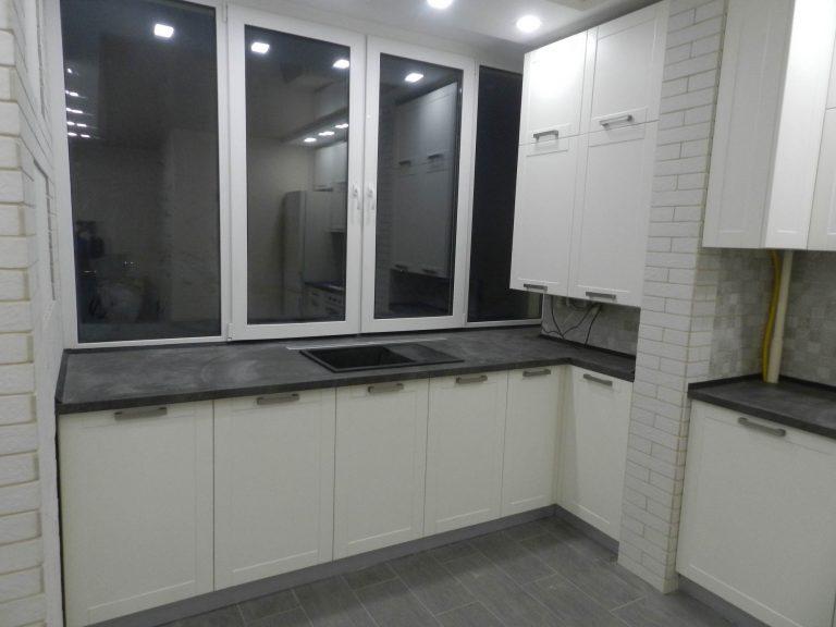 Мебель для кухни Джелато и Бетон