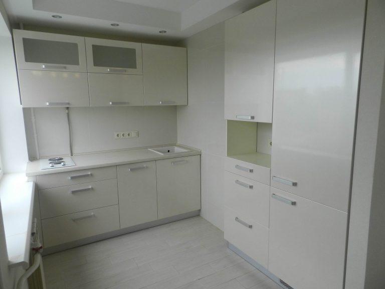 Мебель для кухни Белая Жемчуг