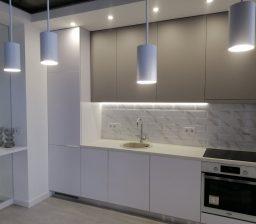 Кухня ДСП Альба и Шиншилла от Green мебель