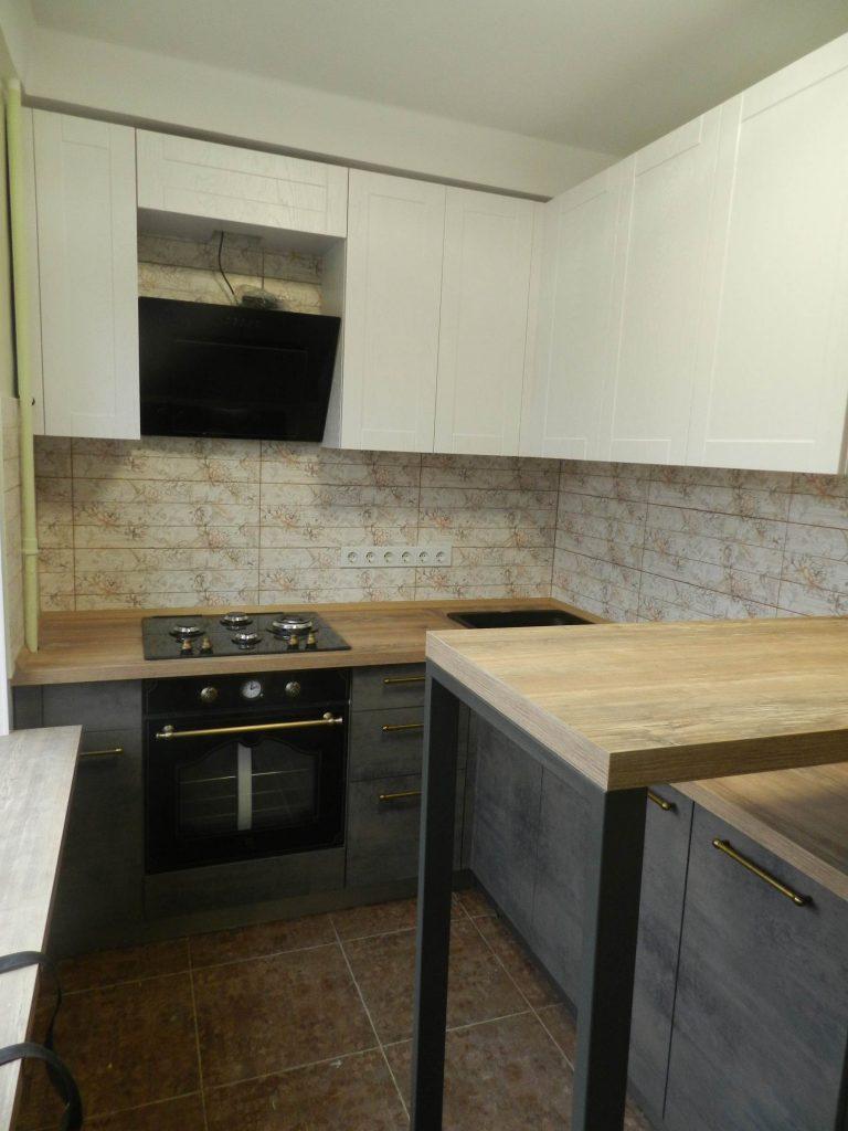 Кухня Вуд и Оникс