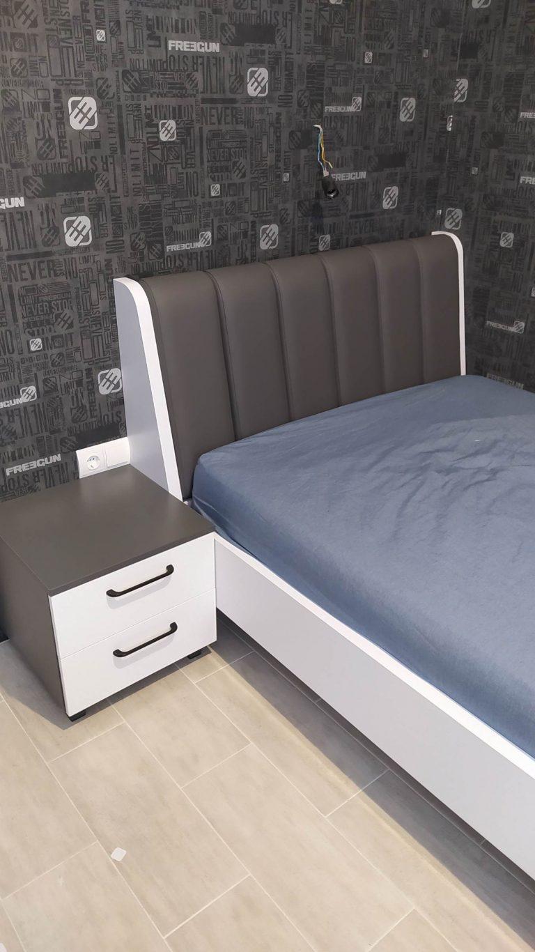 Кровать Антрацит и Нимфея в детской
